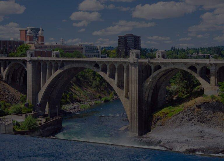Spokane, WA city view